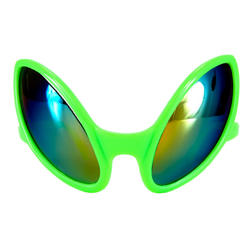 Close Encounter Halloween Alien Glasses