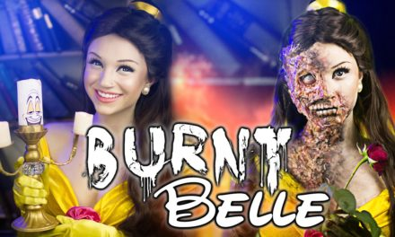 Burnt Belle – Make Up Tutorial from Glam & Gore