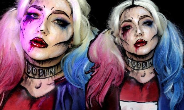 Harley Quinn Meets Pop Art – Make up Tutorial